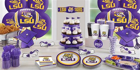 Lsu Tigers Party Supplies  Party City. European Decor. Family Room Furniture. Decor Globe Reviews. Formal Dining Room Chandelier. French Style Living Room. House Decor Ideas. Bucket Dining Room Chairs. Decorative Partition Wall Ideas