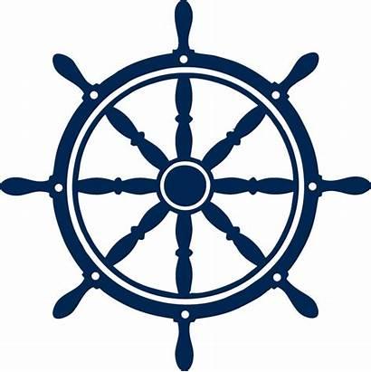 Wheel Ship Boat Helm Nautical Steering Logos