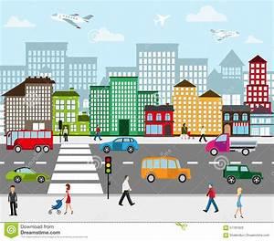 City Landscape Stock Vector - Image: 57781623