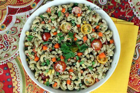So a good back pocket thing to. Festive Macaroni Salad