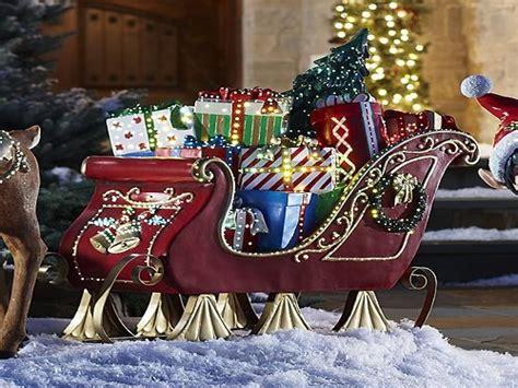 Weihnachtsdekoration Schlitten by Sleigh Outdoor Decorations Www