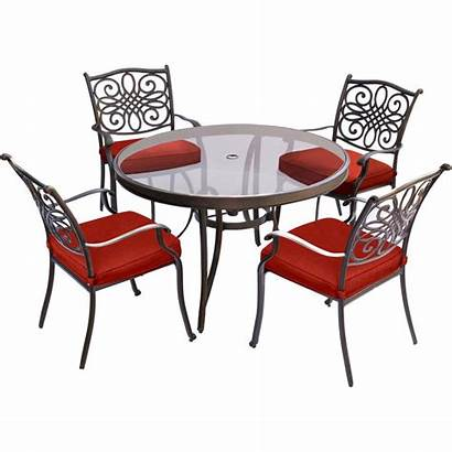 Dining Table Glass Hanover Traditions Outdoor Piece