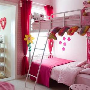 15 twin girl bedroom ideas to inspire you rilane With girly bunk beds for kids and teenagers