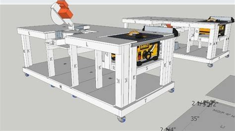 large preview   model  mobile workbench  built