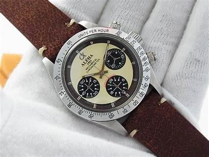 Alpha Daytona Paul Dial Newman Watches Bezel