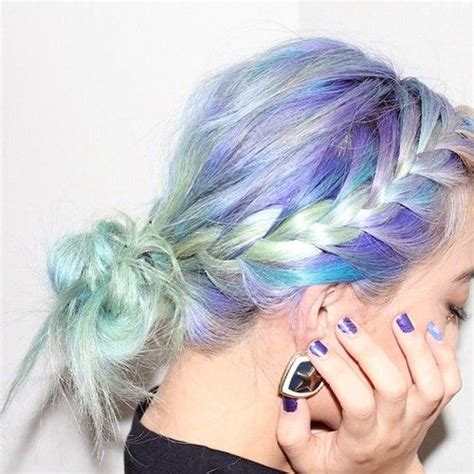 Seafoam Mermaid Green To Blue Ombre Hairchalk Set Of 12