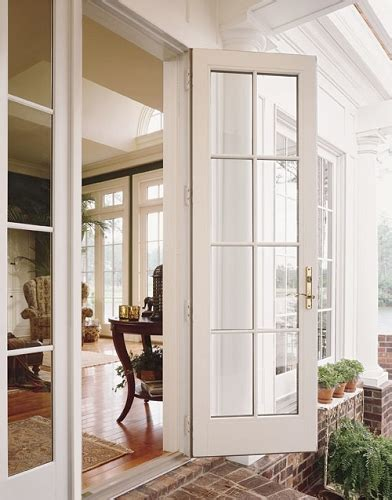 Outswing Patio Doors by Andersen 400 Series Frenchwood Outswing Patio Door