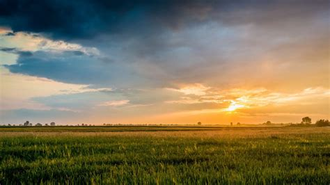 wallpaper sunset landscape photography  poland
