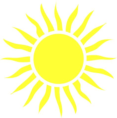 Library of blazing sun clip black and white library png ...