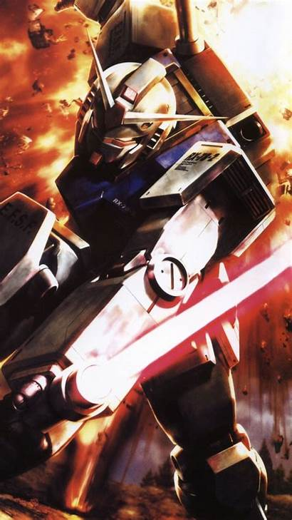 Gundam Anime Wallpapers Iphone Mobile Vertical Getwallpapers
