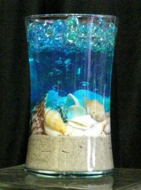 a piece of ocean water bead decorating ideas water