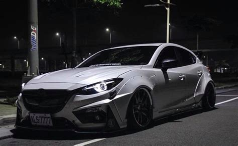 mazda 3 tuning powerful style mazda 3 with widebody kit from jgtc