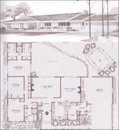 modern ranch floor plans ramblers ranches and mid century modern houses design no plan no 3745 1960 hiawatha t