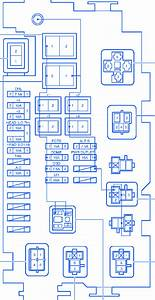 Toyota Tacoma 2008 Main Fuse Box  Block Circuit Breaker Diagram  U00bb Carfusebox