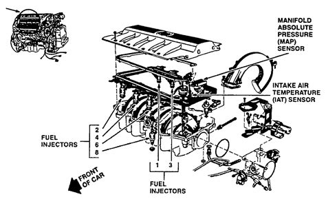 1996 Cadillac Concour Engine Diagram by On A1996 Cadillac With A Engine V8 4 6
