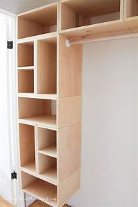 diy closet ideas DIY Custom Closet Organizer: The Brilliant Box System | DIY ideas | Diy custom closet, Wood ...