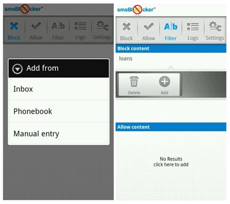 sms blocking app for android sms blocker now available for android for free