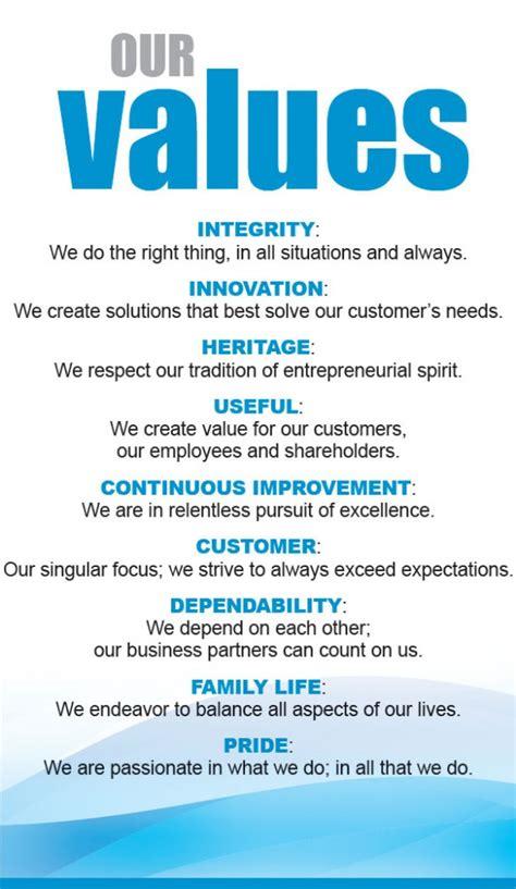company mission  values gpi