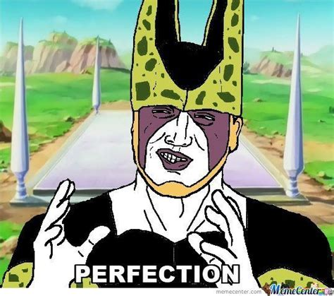 Cell Memes - perfect cell by seanholmes meme center