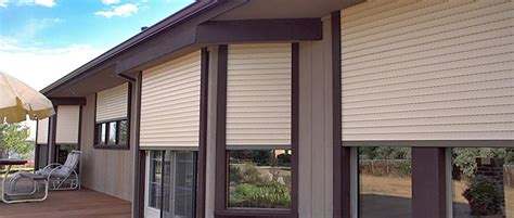 exterior rolling shutters innovative openings