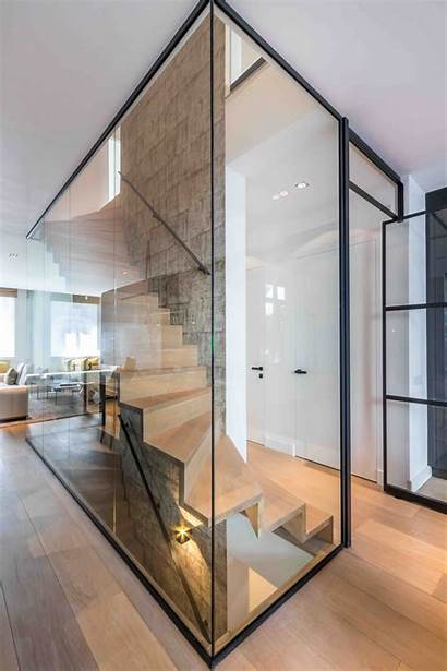 Glass Stairs Staircase Floating Oud Zuid Amsterdam