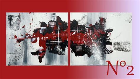 tableau abstrait en et noir anthony painting