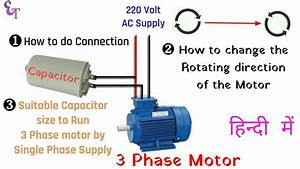 What Size Capacitor Do I Need For A Single Phase Motor