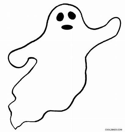 Coloring Pages Ghost Printable Ghosts Halloween Colouring