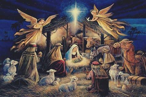 nativity scene wallpaper wallpapertag