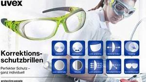 Schutzbrillen Mit Sehstärke : individuelle psa pers nliche schutzausr stung uvex ~ Frokenaadalensverden.com Haus und Dekorationen