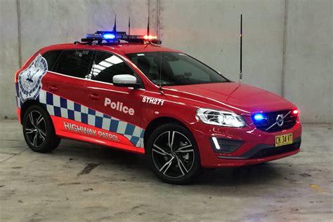 volvo xc highway patrol cars join nsw police fleet