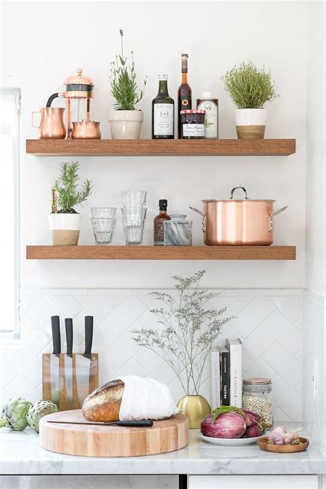 Kitchen Wall Shelves by Best 25 Kitchen Shelves Ideas On