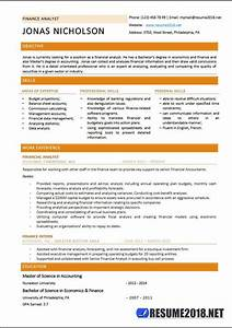 Absolutely Free Resume Finance Analyst Resume Templates 2018 Resume 2018