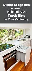 25 best ideas about trash bins on pinterest rustic With best brand of paint for kitchen cabinets with free recycle stickers