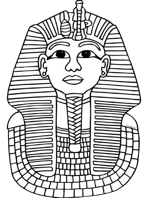 Kleurplaat Egyptenaren by Kleurplaten Egypte