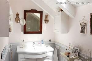 Un bagno in stile shabby chic interiors