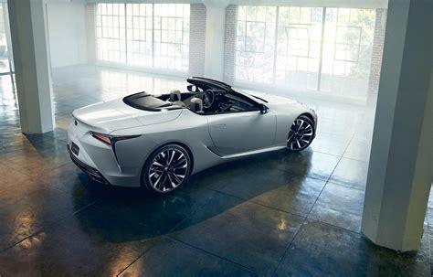 lexus lc convertible concept revealed car magazine