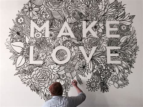 Bedroom Wall Drawings by Make Mural Each Day And Murals