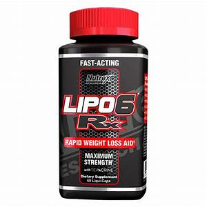 Nutrex Lipo 6 Rx Fat Burner 60 Capsules Weight Loss Lipo6 Rx Worldwide Shipping