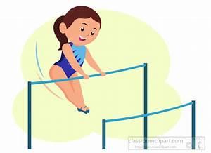 Gymnastics Clipart Clipart- athlete-performing-gymnastics ...