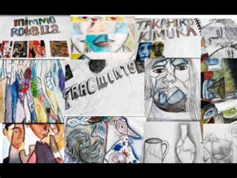 Gcse Year Art Sketchbook Fragments Work Youtube
