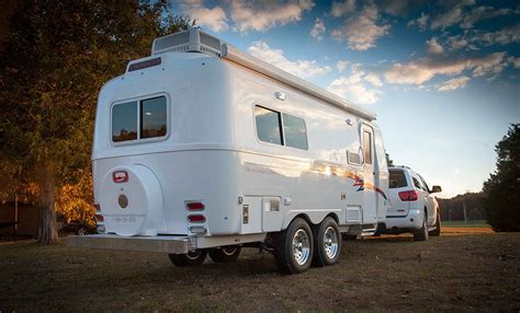 small cing trailers oliver travel trailers fiberglass travel trailers