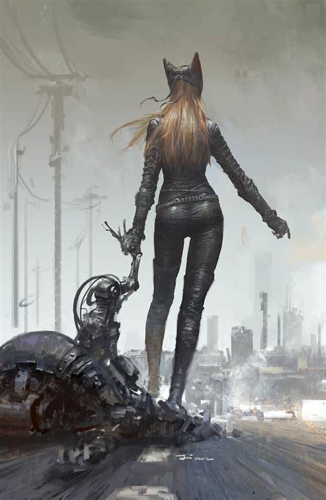 fantasy art, Futuristic, Catwoman Wallpapers HD / Desktop ...