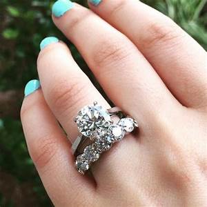 engagement rings 2017 halo vs no halo engagement rings With wedding band no engagement ring