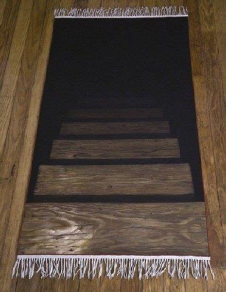 Teppich Optische Täuschung design teppich l 228 ufer treppe optische t 228 uschung die