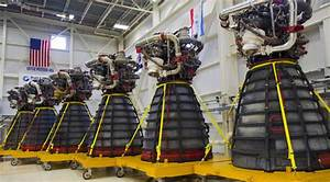NASA conducts static-fire test of the RS-25 engines to be ...