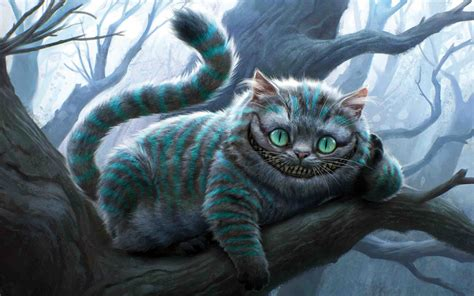 The Cheshire Cat From Alice In Wonderland Desktop