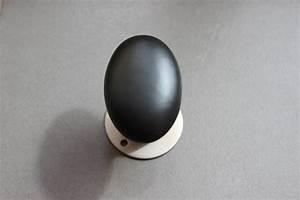 Bouton De Porte Cuisine : bouton de porte ovale noir mat espace poign es ~ Teatrodelosmanantiales.com Idées de Décoration