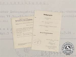 two documents to the 5th company of ss panzer grenadier With documents 5 ss