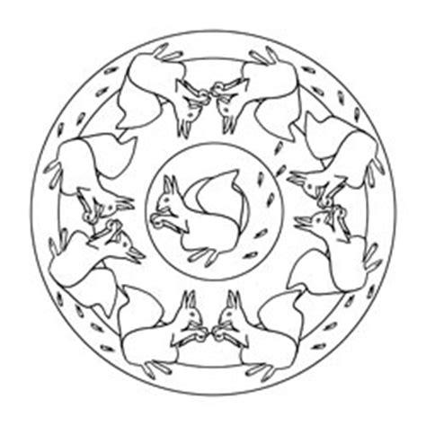 eichhörnchen zum basteln pferde mandala basteln gestalten